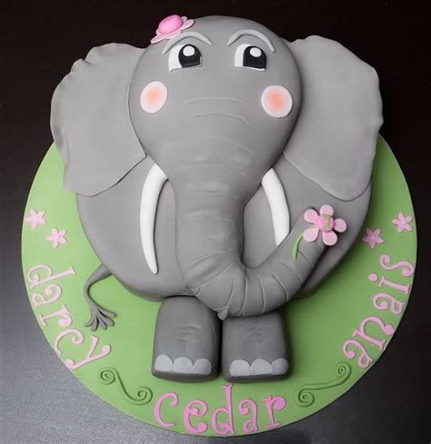 elephant cake template elephant cake pattern pictures to pin on pinsdaddy