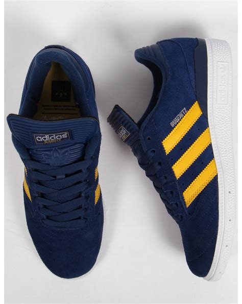 adidas busenitz trainers navyyellowwhite originals shoes