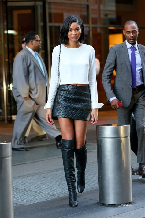 chanel iman tall tall look for less chanel iman quilted leather skirt and