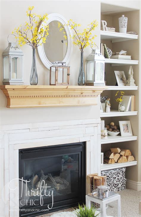 7 chic decorating ideas for your mantel mantels mantels thrifty and chic diy projects and home decor