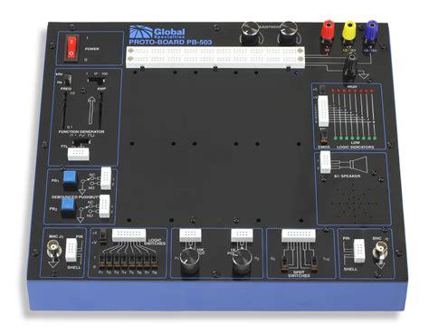 breadboard circuit design trainer pb 503 desktop analog and digital design trainer