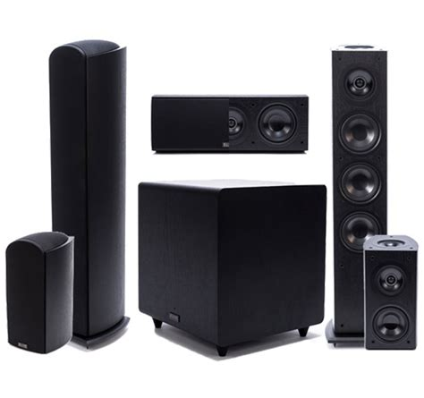 Home Theater Large Or Small Speakers Pioneer Elite Dolby Atmos 5 1 Home Theater Speaker System