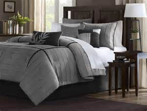 21 pc comforter curtain gray sheet set black micro suede