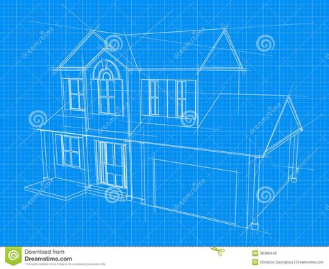 blue print house blueprint cliparts