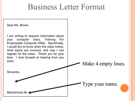 Business Letter I Am Writing letter writing communication skills