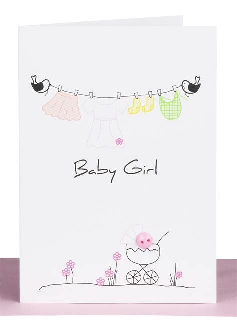 Gift Cards For Girls - baby girl gift card pink dress lils wholesale cards