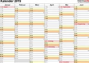 Kalender 2018 Und 2019 Kalender 2019 Zum Ausdrucken Als Pdf 16 Vorlagen Kostenlos