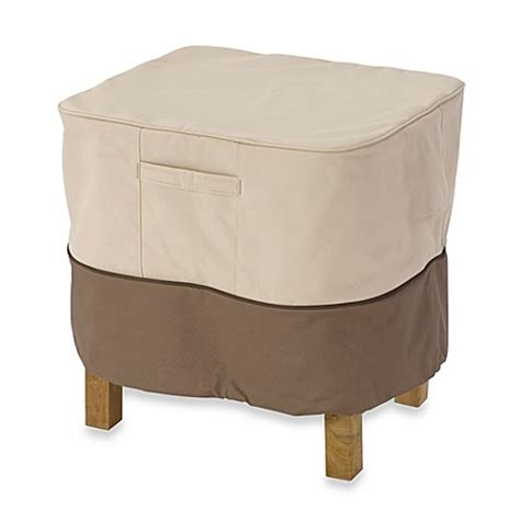 bed bath beyond ottoman classic accessories 174 veranda rectangular ottoman side