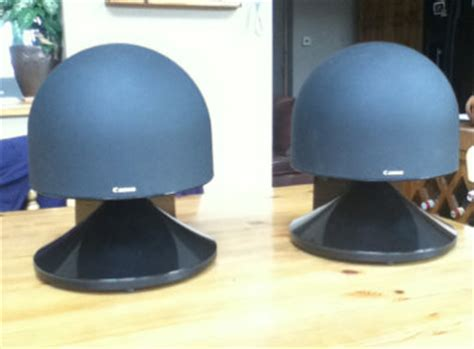 Speaker Subwoofer Canon canon s 50 wide imaging stereo speakers in origional boxes