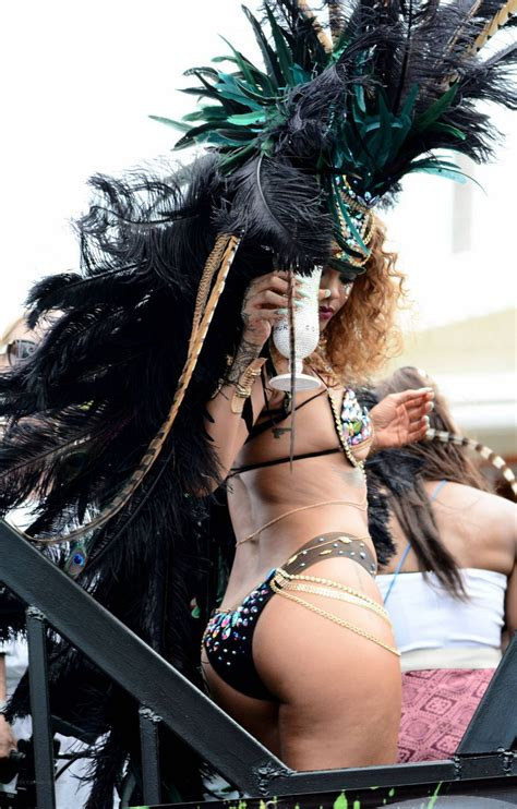 Rihanna In Barbados Shesfreaky