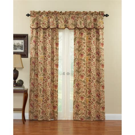 waverly valances waverly imperial dress curtain panel curtains at hayneedle