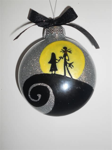 nightmare before christmas couple ornament christmas