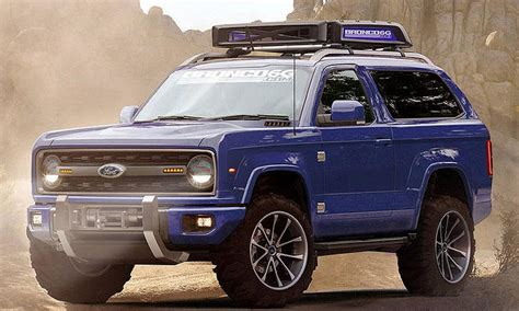 pictures of the new ford bronco would you buy the next ford bronco if it looked like this