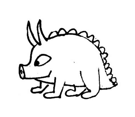 coloring pages of funny monsters funny monsters and dragons coloring pages