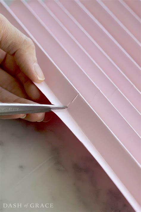 how to a fan out of paper paper fan paper rosette diy dash of grace