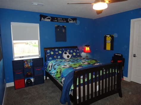 soccer bedroom boys blue modern soccer bedroom modern bedroom omaha