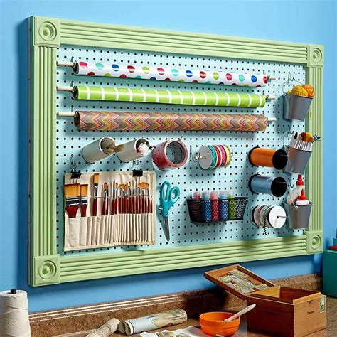 pegboard ideas organize anything with pegboard 11 ideas and tips