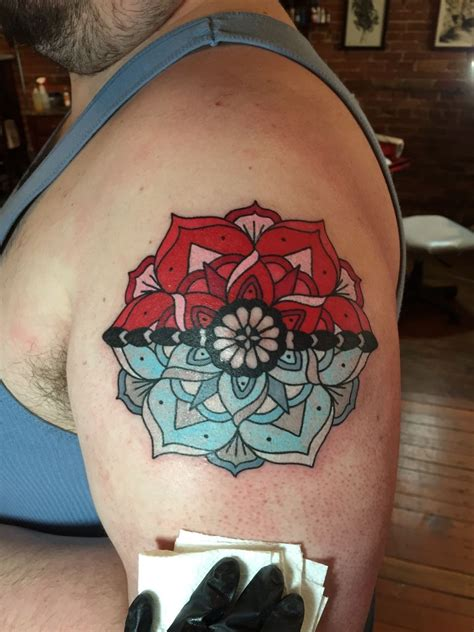 henna tattoo zwickau fyeahtattoos pokeball mandala original design by