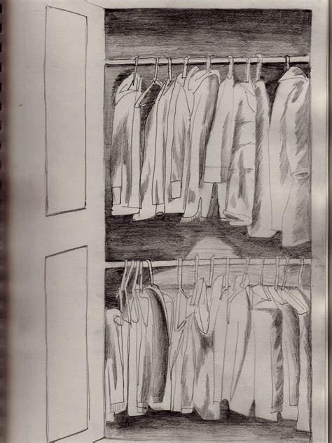 How To Draw A Closet by Appreciating Sketch 4 Draw Your Closet