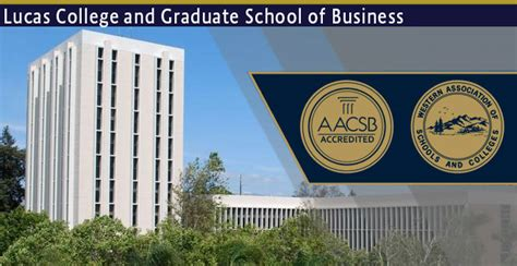 St Mba Accreditation by College Of Business Accreditation San Jose State