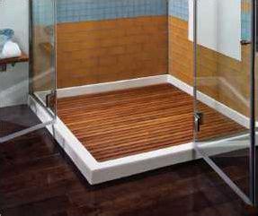 teak shower insert teak shower floor inserts various pre made sizes or