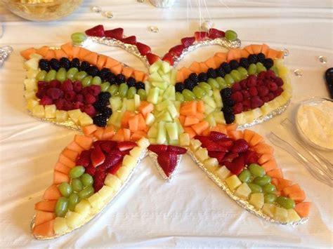 butterfly fruit tray fruit pinterest