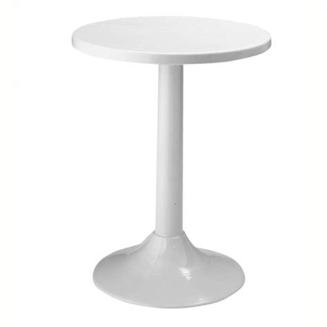 Plastic Bistro Table Tucano Bistro Table White Europa Leisure Uk