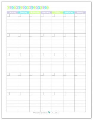 printable weekly calendar portrait blank monthly calendar monthly calendars and calendar