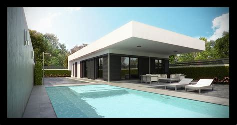 villa home architectures new modern villa spanish house with