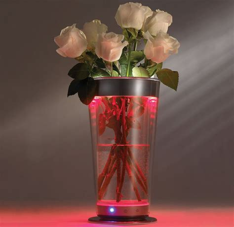 color adjusting illuminated vase 300 different colors