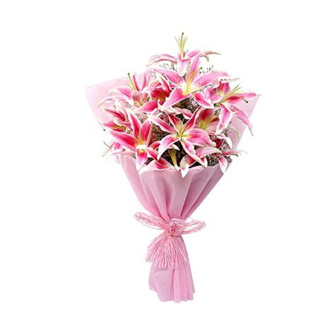 Flower Bouquet Delivery by Pink Bouquet Buy Gifts