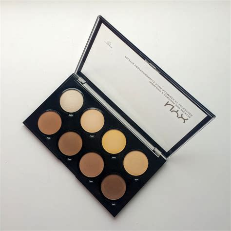 Nyx Contour Kit high quality low prices nyx swatches and review padour