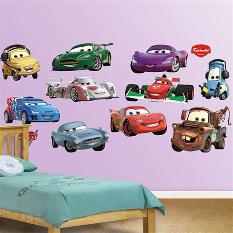 Disney Cars Wall Decals disney cars collection 2 fathead wall sticker