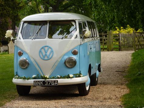 blue volkswagen van vw wedding hire and volkswagen cer van hire