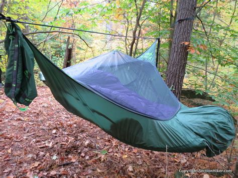 Hammock Angle amok equipment draumr 3 0 hammock system review section hikers backpacking