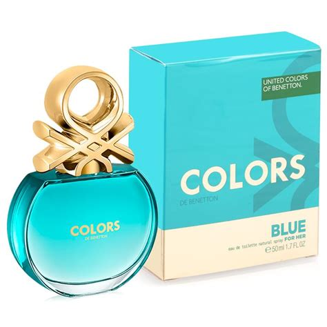 Parfum Original Benetton United Colors Blue For Edt 80ml colors de benetton blue benetton perfume a new fragrance for 2016