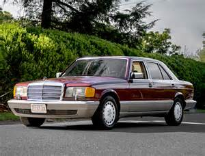 1988 Mercedes 560sel 1988 Mercedes 420sel Side View Classic Cars Today
