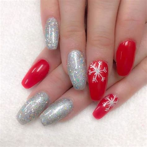 Some Nail Designs by Snowflake Nail Designs Create Some Winter Magic On Your