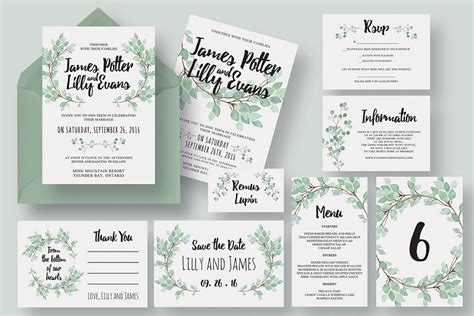 Package Wedding Invitations by 50 Wonderful Wedding Invitation Card Design Sles