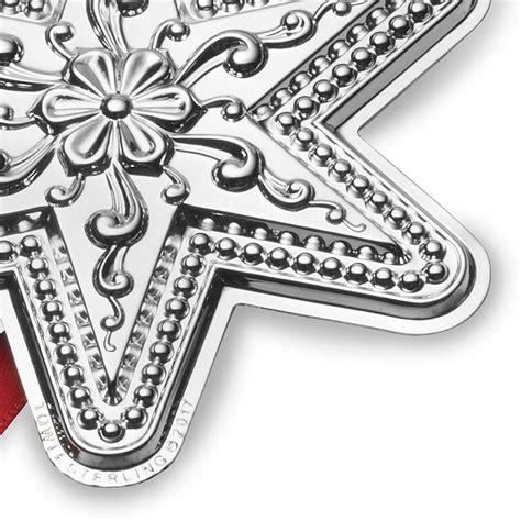 towle ornaments silver ornament 2017 towle silver