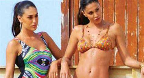 Celia Sabrina 1 belen e cecilia rodriguez sfida di bellezza sorelle