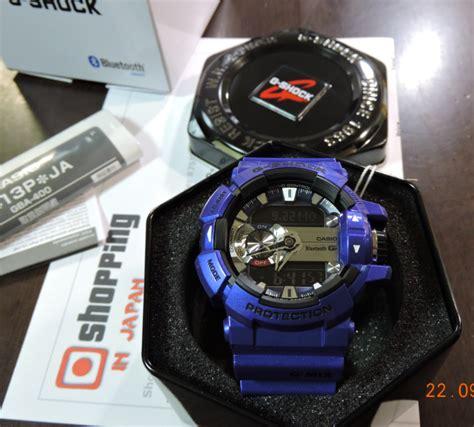 Casio G Shock G Mix Blue Kw brand new gshock bluetooth gba 400 2ajf g mix series blue