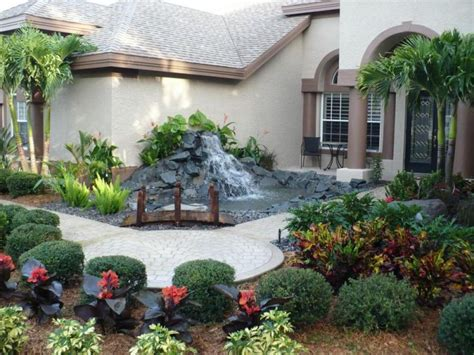 sloping backyard landscaping ideas triyae com ideas for a sloped front yard various