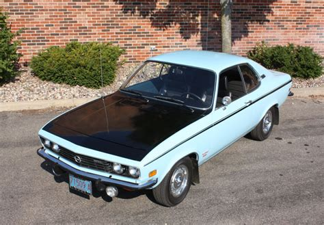 1973 buick opel car of the week 1973 opel rallye manta