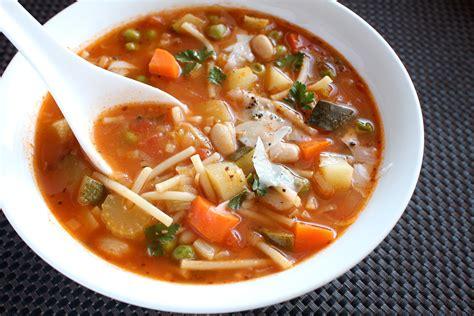 vegetarian minestrone soup urban locavore