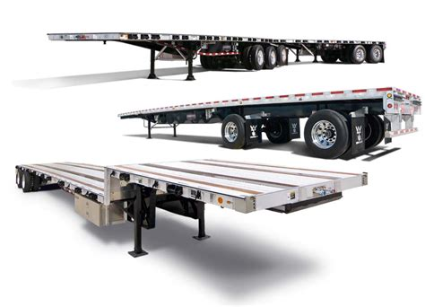 flat bed trailer flatbed trailers