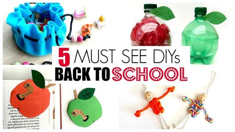 14 must have back to school ideas pinkwhen 5 fun back to school diy ideas must try diy back to