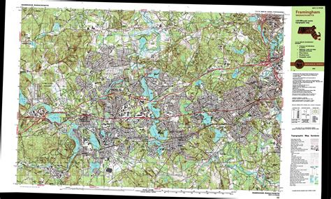 natick mall map natick topographic map ma usgs topo 42071c3