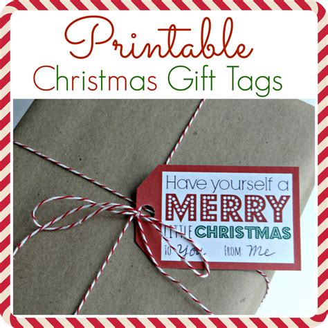 free printable gift tags from organized christmas com free printable christmas coupons