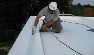 flat roof choices repair or replace